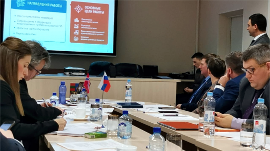 Норвежская делегация коммуны Сер-Варангер приехала в Никель с целью обсуждения плана и перспектив развития сотрудничества.