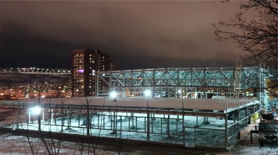 Крытый каток по концессии в Мурманске откроется в 2021 году