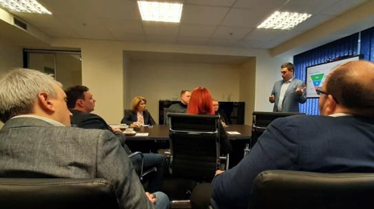 Корпорация развития провела круглый стол с представителями деловых объединений Мурманской области