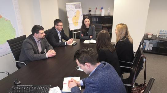 Корпорацию посетили коллеги из команды развития Мончегорска