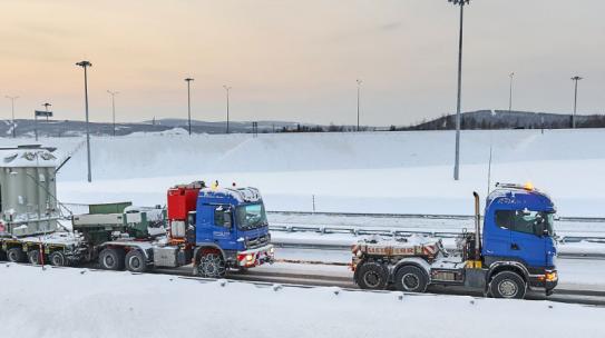 Инвестор возвел новый мост для доставки 122-тонного трансформатора на Кольскую ВЭС
