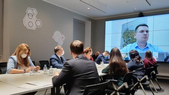 Развитие Арктики обсудили на круглом столе с коллегами из Норильска