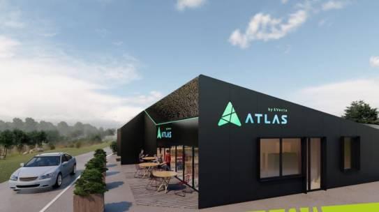 Резидент АЗРФ компания «Ивекта групп» приступил к строительству многофункционального сервисного комплекса «Атлас» на автодороге «Кола» (P-21)